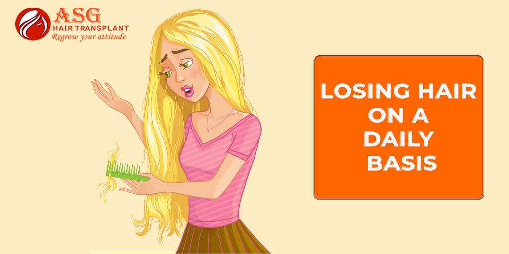 Losing Hair On A Daily Basis