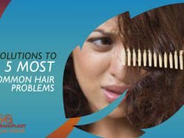 Solutions to 5 most common hair problems