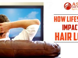 How lifestyle Impacts hair loss