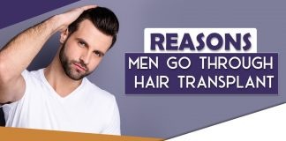 Reasons men go through Hair Transplant - ASG Hair Transplant Centre Punjab