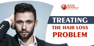 Treating the hair loss problem