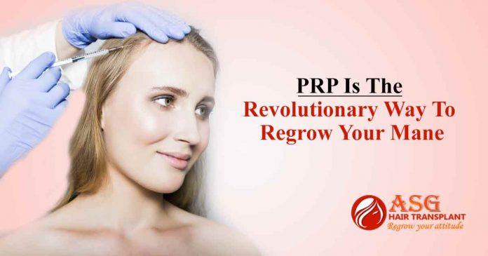 PRP Is The Revolutionary Way To Regrow Your Mane