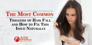 The Most Common Triggers of Hair Fall and How to Fix This Issue Naturally
