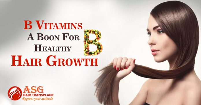 B Vitamins A Boon For Healthy Hair Growth