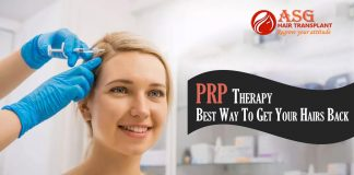 PRP Therapy Best Way To Get Your Hairs Back