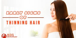 Early Signs of Thinning Hair