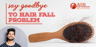 Say goodbye to hair fall problem