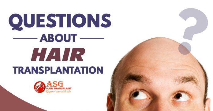 Questions about hair transplantation Punjab