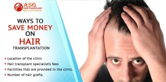 Ways to save money on hair transplantation Punjab