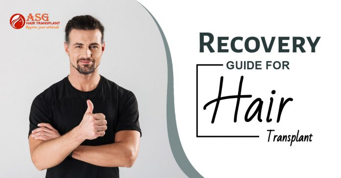 Recovery guide for hair transplant Punjab