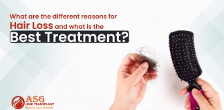 What are the different reasons for hair loss and what is the best treatment