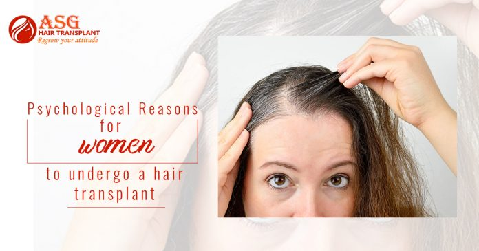 Psychological reason for hair loss