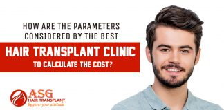 Parameters Consider Hair transplant cost in India