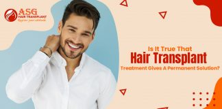 Is it true that hair transplant treatment gives a permanent solution