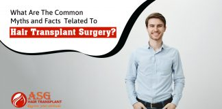 What are the common myths and facts related to hair transplant surgery