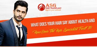 What does your hair say about health and how does the hair specialist treat it