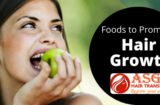 Foods to promote hair growth